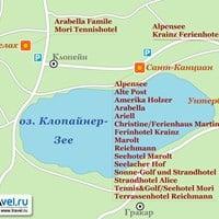 Карта Клопайнер-Зее