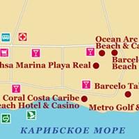 Карта курорта Хуан-Долио