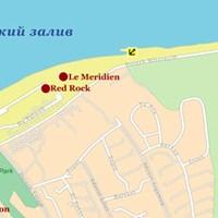Карта курортов Эйлата
