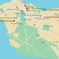 Карта Рейкьявика