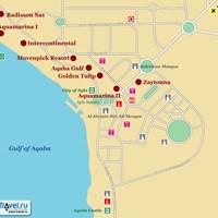 Карта Акабы