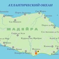 Карта острова Мадейра