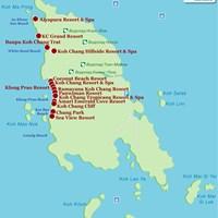 Карта острова Чанг