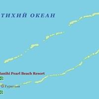Карта атолла Манихи