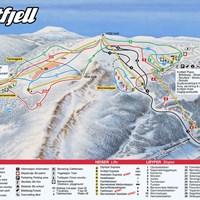 Карта курорта Квитфьель