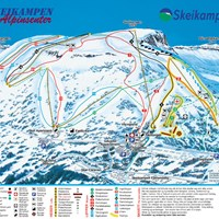 Карта курорта Шейкампен
