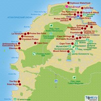 Карта г.Кейптаун