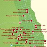 Карта г.Крюгер-Парк