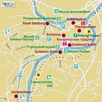 Карта г. Бад Ишль