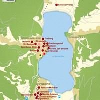 Карта оз. Целлер Зее