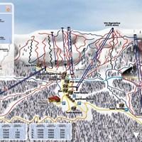 Карта курорта Яхорина