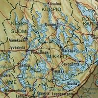 Карта Озерного края