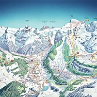 Карта горнолыжного курорта Engelberg Titlis