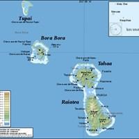 Карта Подветренных островов