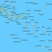Карта архипелага Туамоту